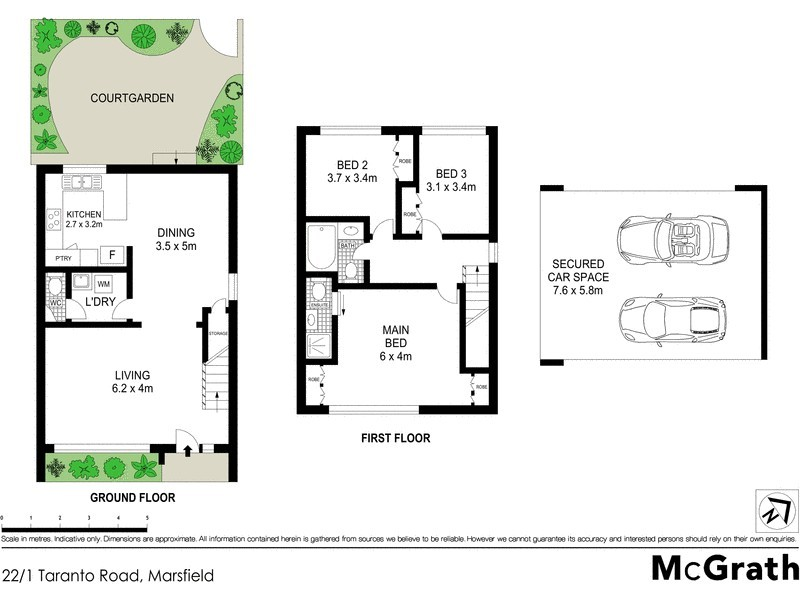 22/1 Taranto Road, Marsfield NSW 2122 Floorplan