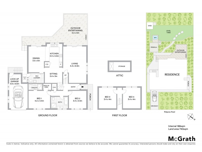 61 Ridgway Road, Avoca Beach NSW 2251 Floorplan