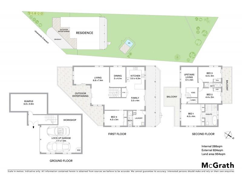 5 Jacaranda Crescent, Tascott NSW 2250 Floorplan