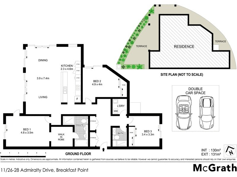 11/26 Admiralty Drive, Breakfast Point NSW 2137 Floorplan