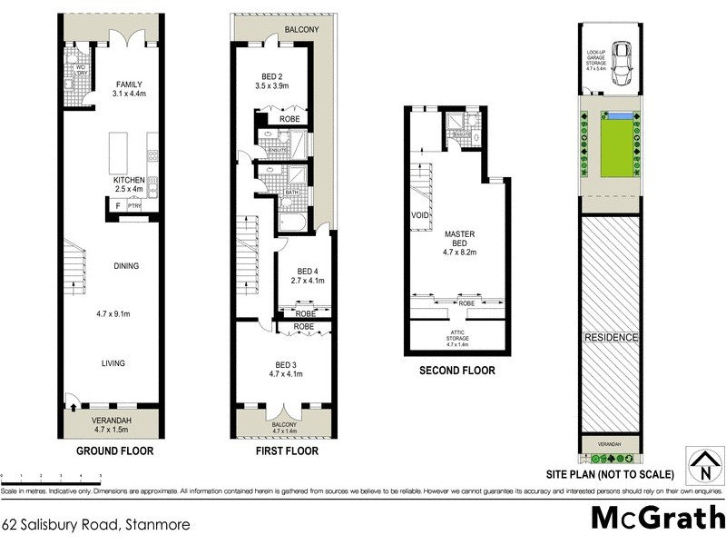 62 Salisbury Road, Stanmore NSW 2048 Floorplan