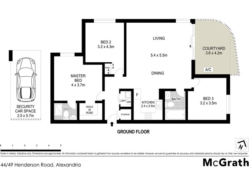 44/49 Henderson Road, Alexandria NSW 2015 Floorplan