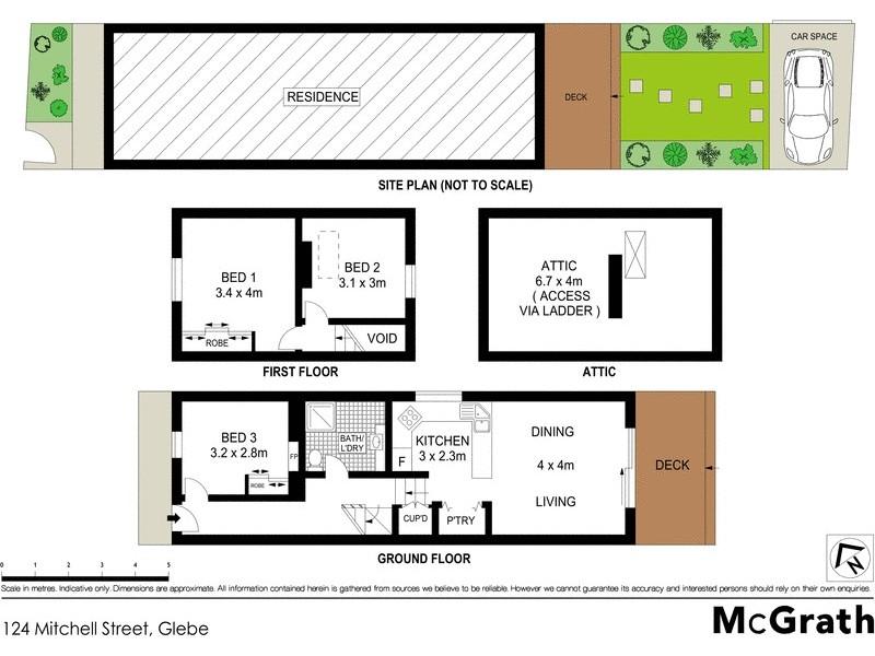 124 Mitchell Street, Glebe NSW 2037 Floorplan