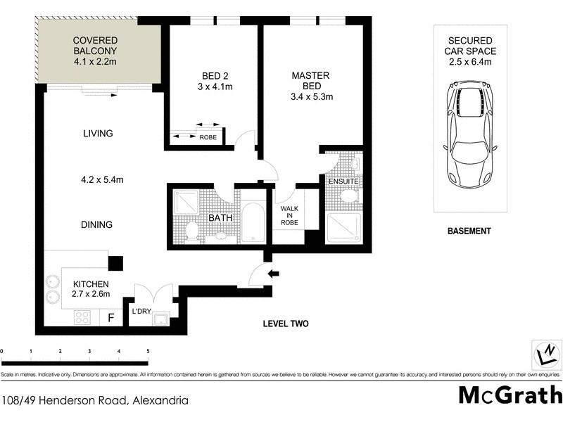 108/49 Henderson Road, Alexandria NSW 2015 Floorplan