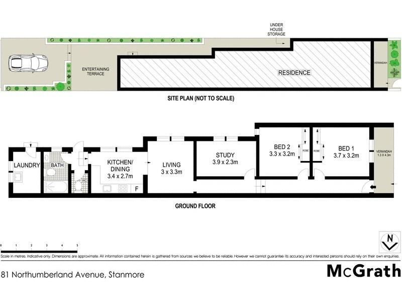 81 Northumberland Avenue, Stanmore NSW 2048 Floorplan