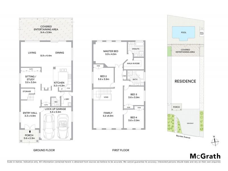 55 Bayview Avenue, Earlwood NSW 2206 Floorplan