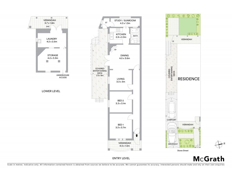 27 Stone Street, Earlwood NSW 2206 Floorplan