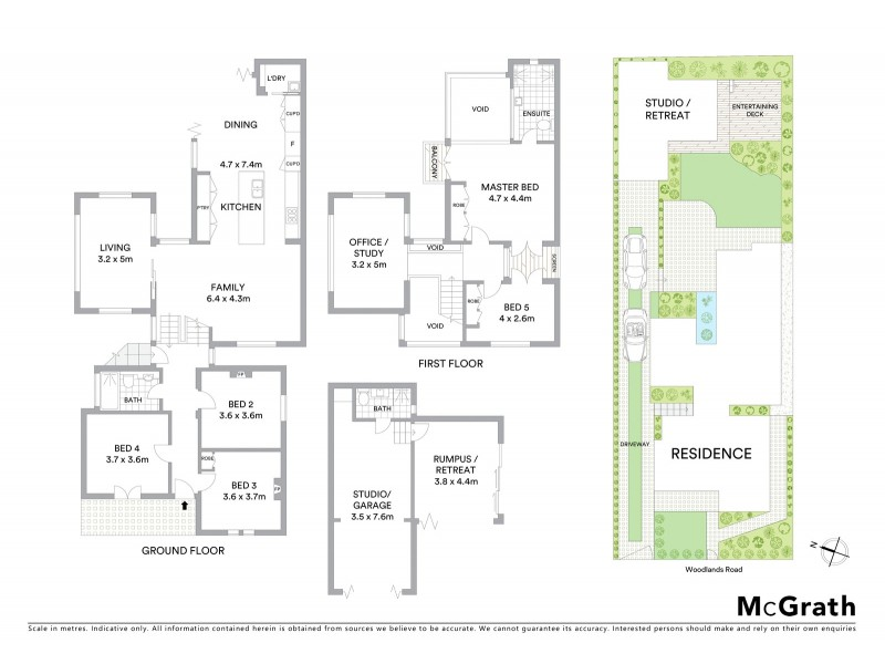 33 Woodlands Road, Ashbury NSW 2193 Floorplan