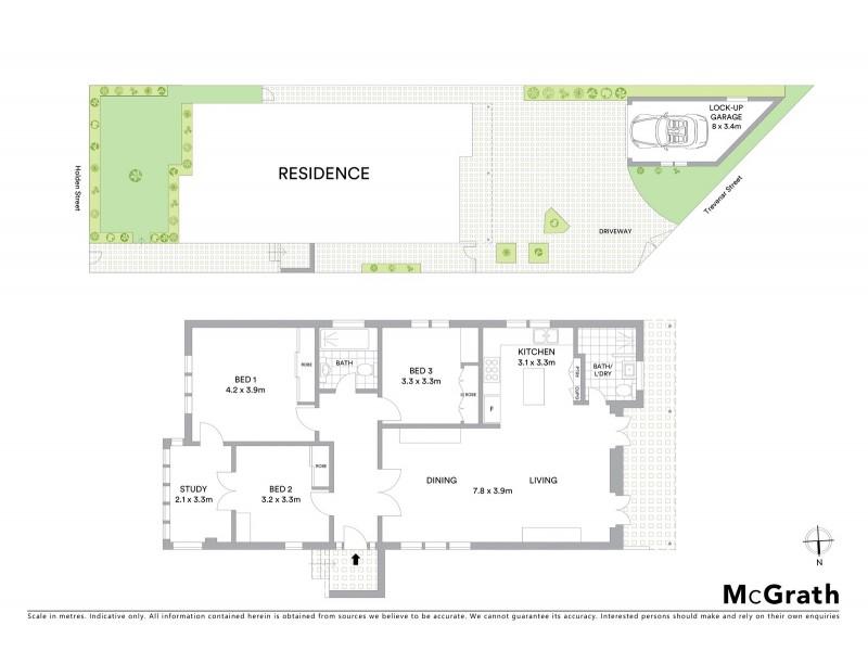 127 Holden Street, Ashbury NSW 2193 Floorplan