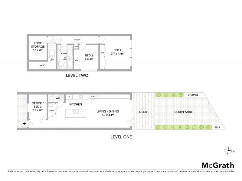 111 Albion Street, Annandale NSW 2038 Floorplan