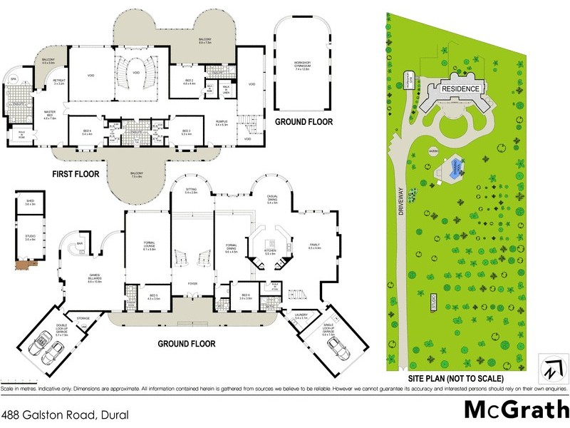 488 Galston Road, Dural NSW 2158 Floorplan
