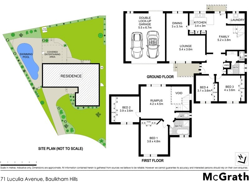 71 Luculia Avenue, Baulkham Hills NSW 2153 Floorplan