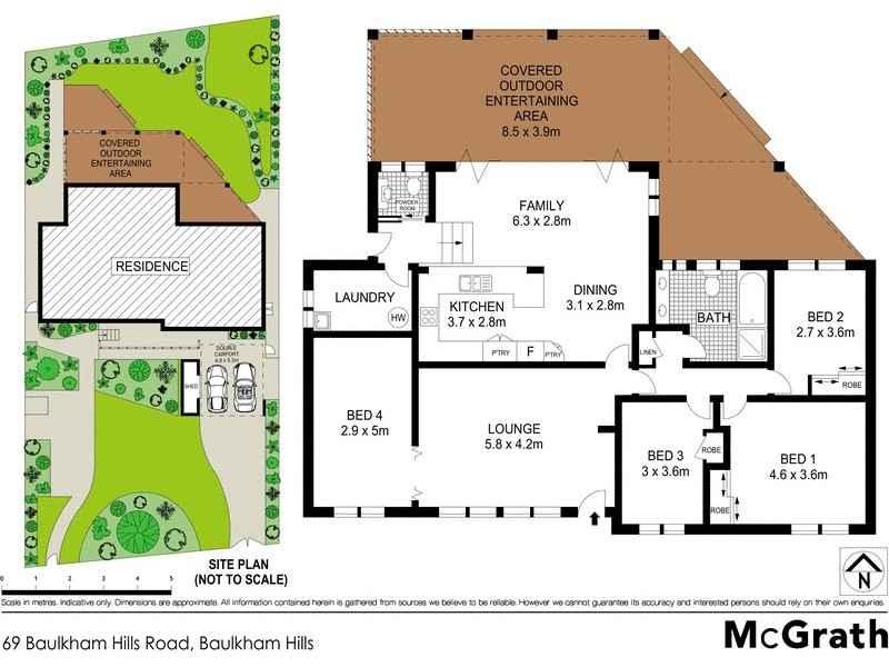 69 Baulkham Hills Road, Baulkham Hills NSW 2153 Floorplan