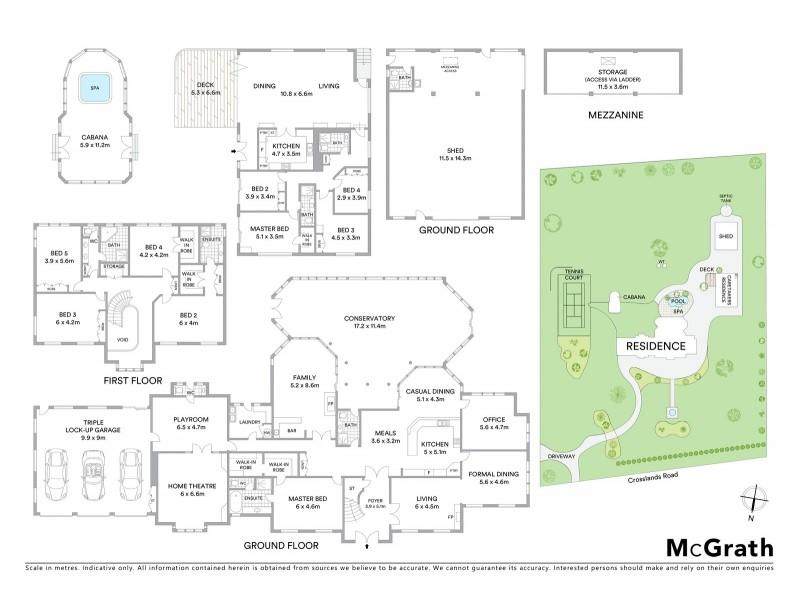 38 Crosslands Road, Galston NSW 2159 Floorplan