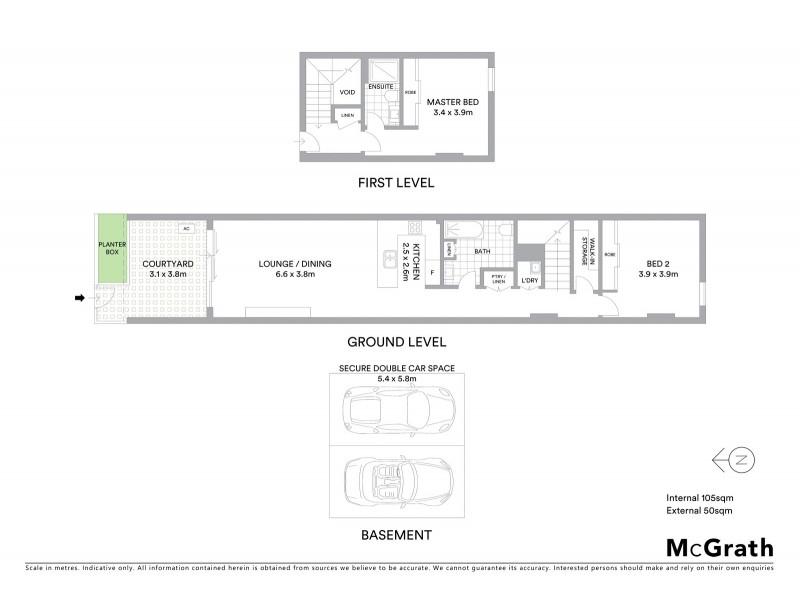 2/13 Old Northern Road, Baulkham Hills NSW 2153 Floorplan