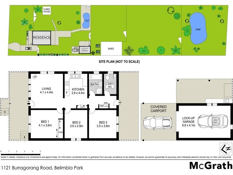 1121 Burragorang Road, Belimbla Park NSW 2570 Floorplan