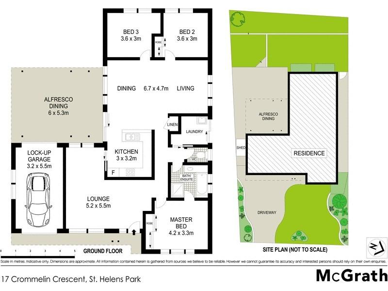 17 Crommelin Crescent, St Helens Park NSW 2560 Floorplan