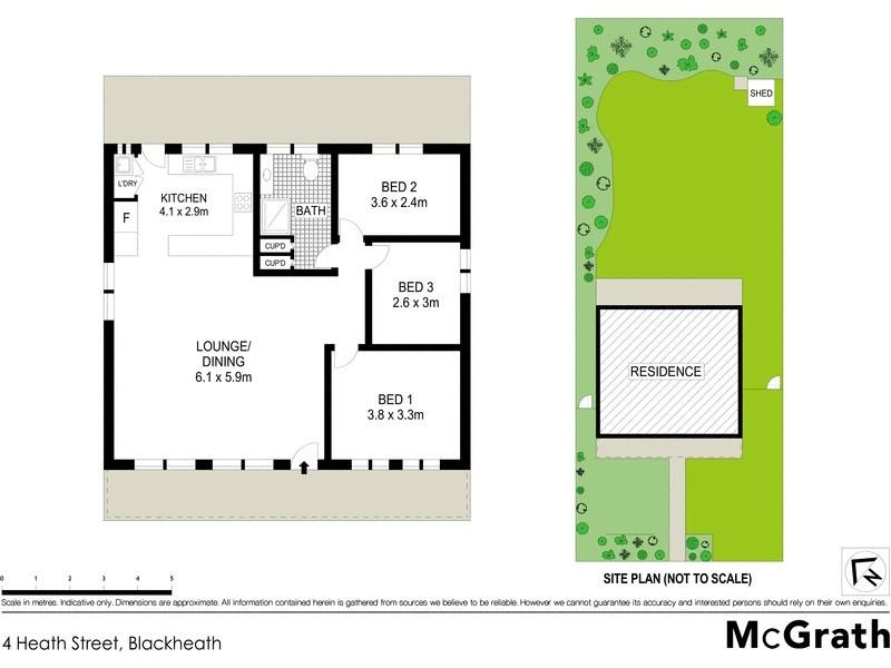 4 Heath Street, Blackheath NSW 2785 Floorplan