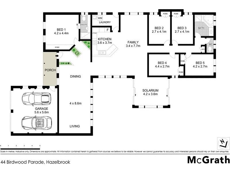 44 Birdwood Parade, Hazelbrook NSW 2779 Floorplan
