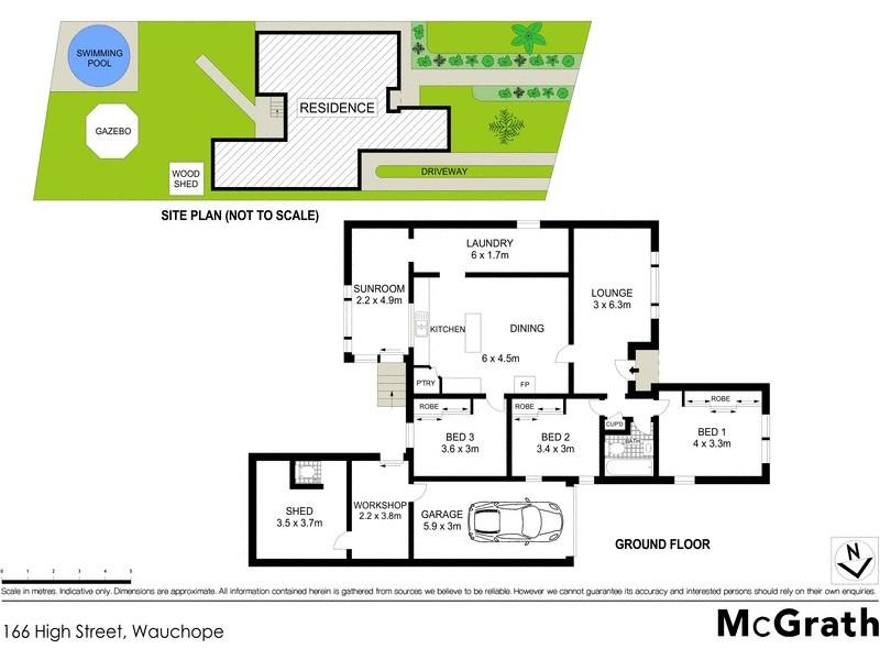 166 High Street, Wauchope NSW 2446 Floorplan