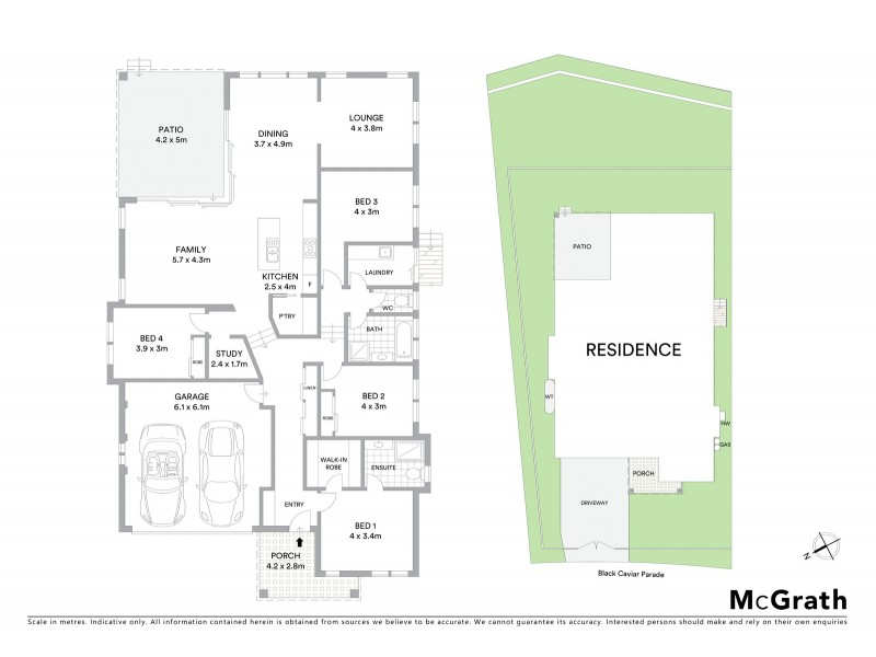 32 Black Caviar Parade, Port Macquarie NSW 2444 Floorplan
