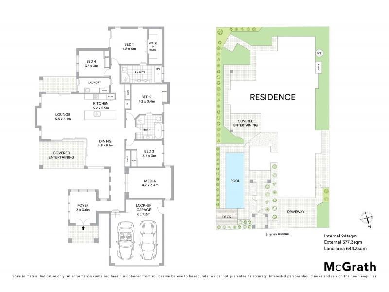 8 Brierley Avenue, Port Macquarie NSW 2444 Floorplan