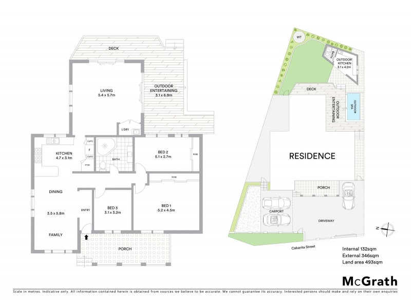 3 Cabarita Street, Wamberal NSW 2260 Floorplan