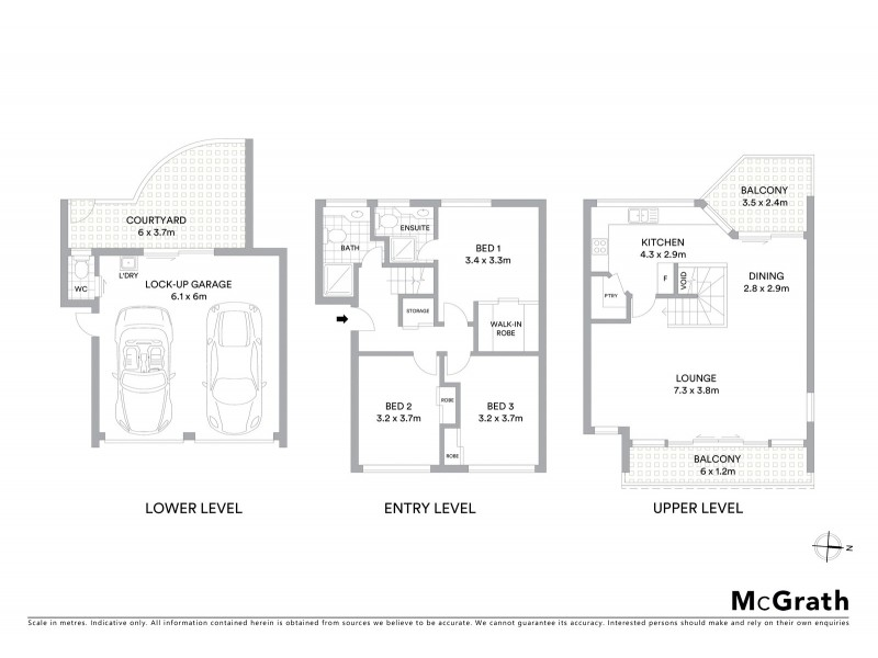 3/34 McKinnon Street, East Ballina NSW 2478 Floorplan
