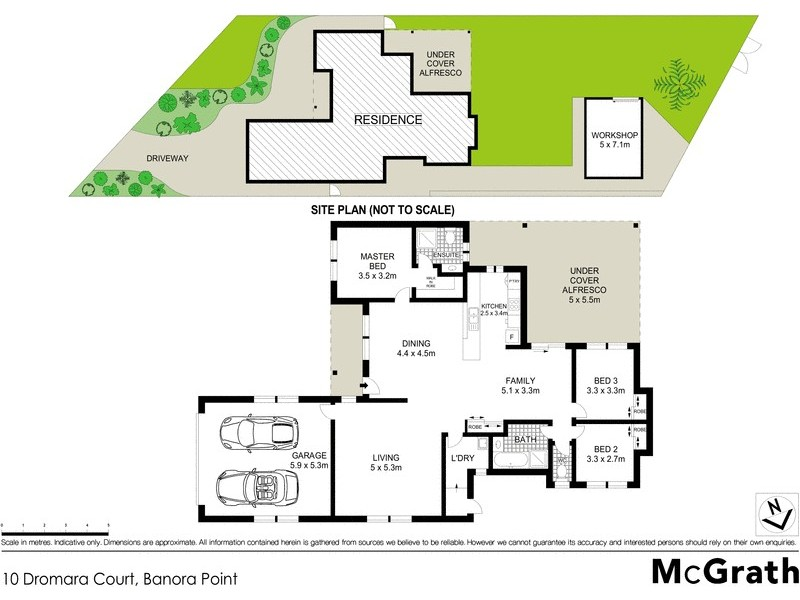 10 Dromara Court, Banora Point NSW 2486 Floorplan