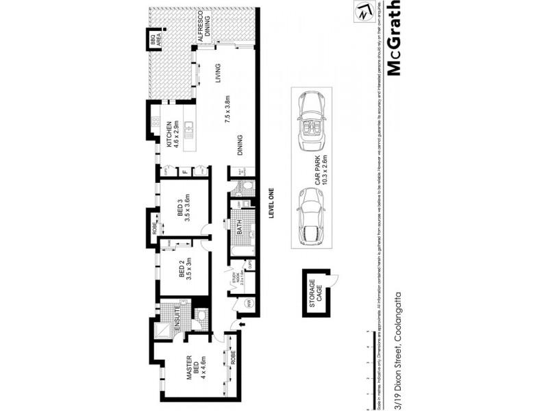 3/3 Carmichael Close, Coolangatta QLD 4225 Floorplan