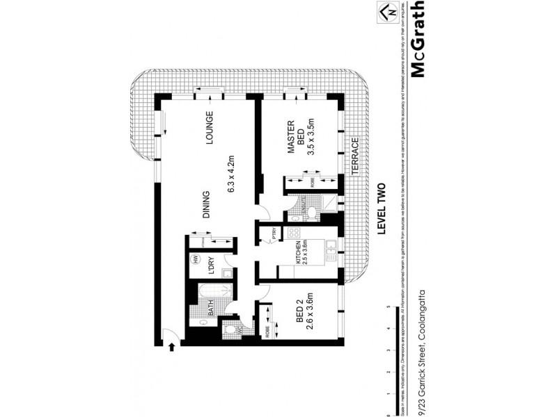 9/23 Garrick Street, Coolangatta QLD 4225 Floorplan