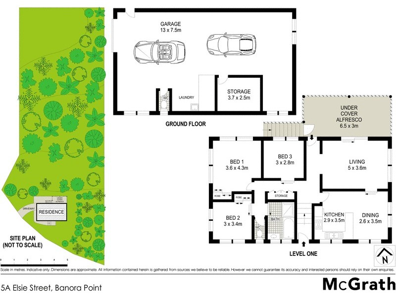 5A Elsie Street, Banora Point NSW 2486 Floorplan