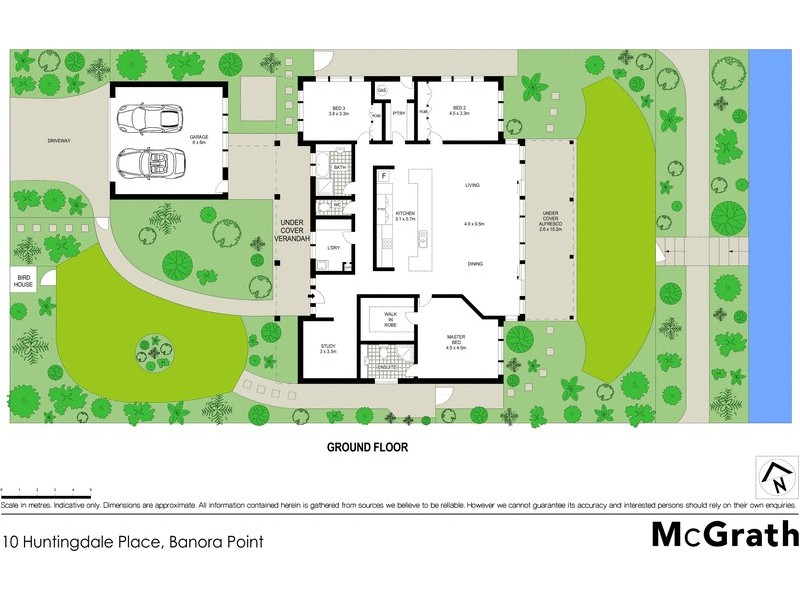10 Huntingdale Place, Banora Point NSW 2486 Floorplan
