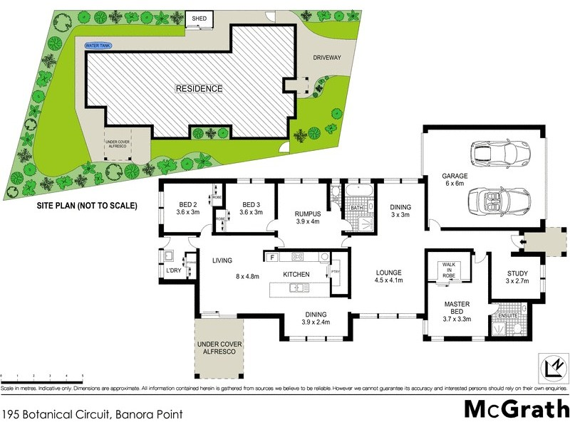 195 Botanical Circuit, Banora Point NSW 2486 Floorplan