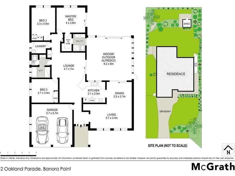 2 Oakland Parade, Banora Point NSW 2486 Floorplan