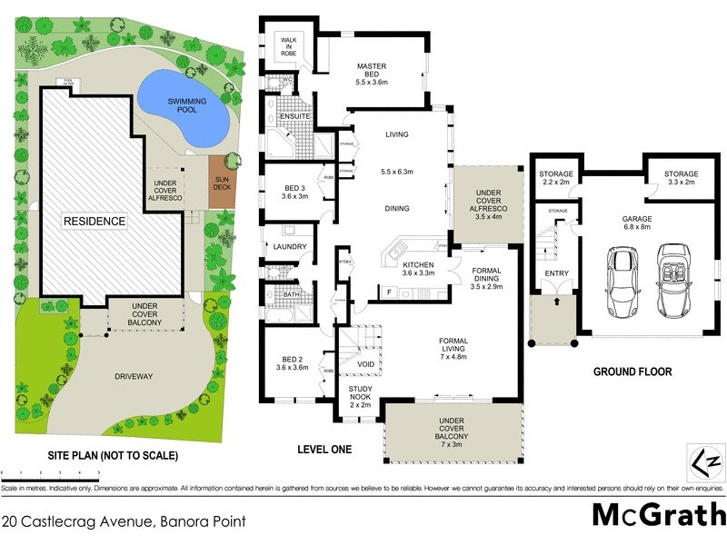 20 Castlecrag Avenue, Banora Point NSW 2486 Floorplan