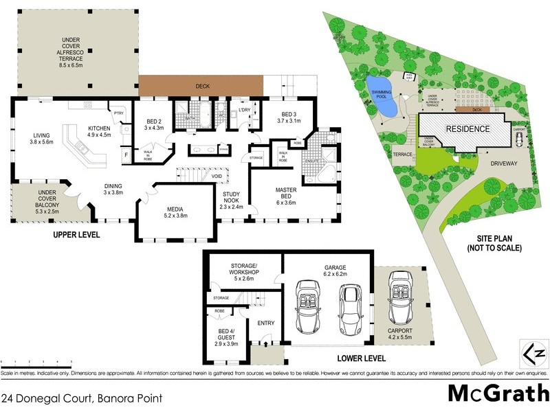 24 Donegal Court, Banora Point NSW 2486 Floorplan