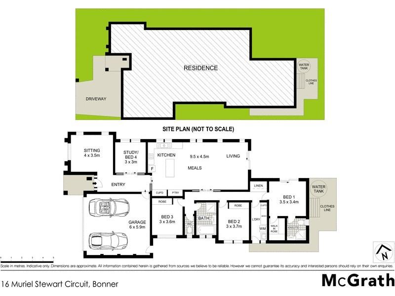 16 Muriel Stewart Circuit, Bonner ACT 2914 Floorplan