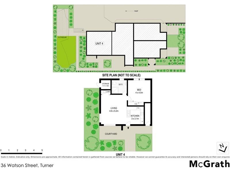 36 Watson Street, Turner ACT 2612 Floorplan