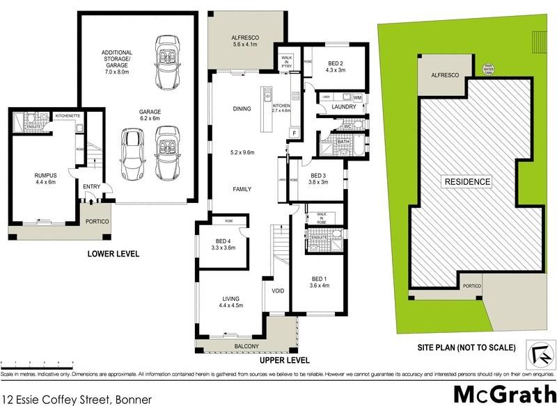 12 Essie Coffey Street, Bonner ACT 2914 Floorplan