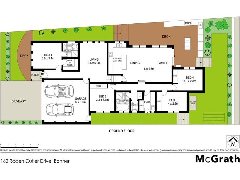162 Roden Cutler Drive, Bonner ACT 2914 Floorplan