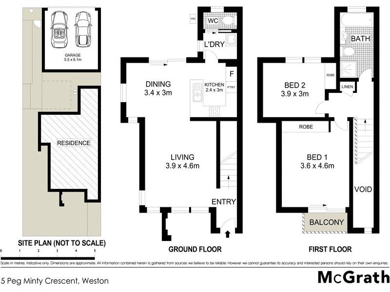 5 Peg Minty Crescent, Weston ACT 2611 Floorplan