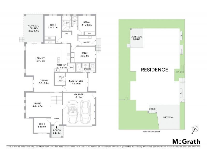 48 Henry Williams Street, Bonner ACT 2914 Floorplan