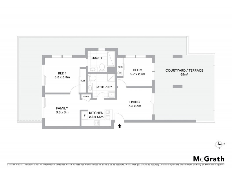 55/75 Elizabeth Jolley Crescent, Franklin ACT 2913 Floorplan