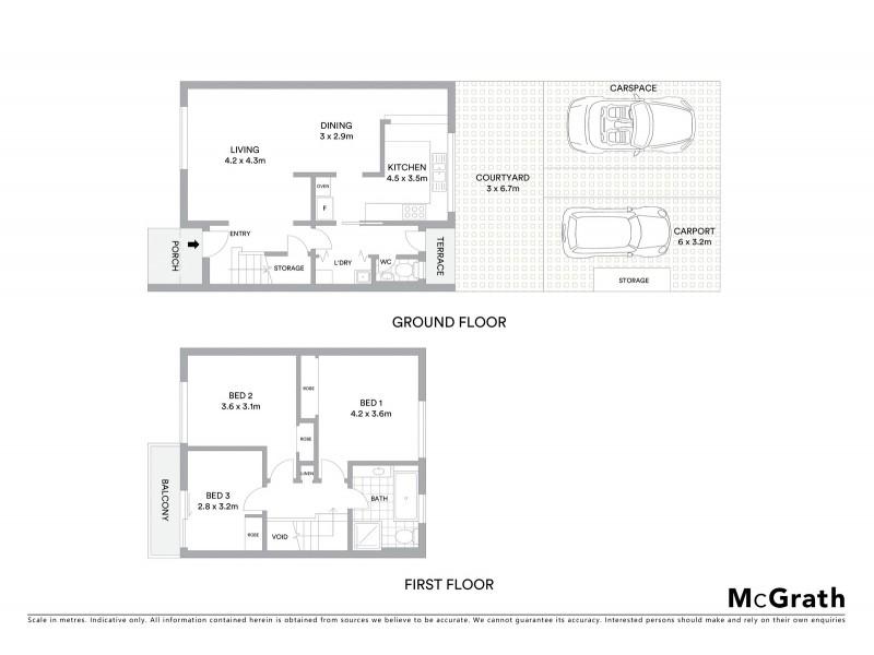 14/124 De Burgh Street, Lyneham ACT 2602 Floorplan