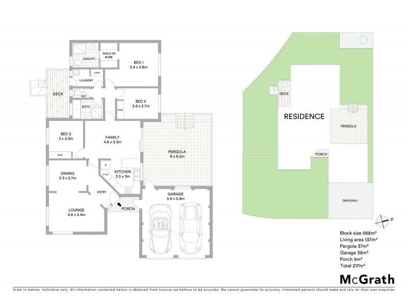 1 Berkeley Street, Dunlop ACT 2615 Floorplan