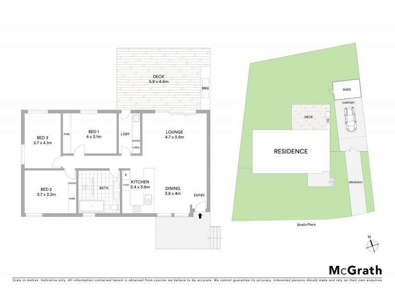 3 Stralia Place, Melba ACT 2615 Floorplan
