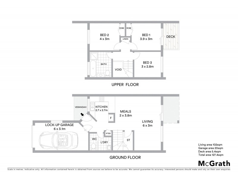 106/36 Paul Coe Crescent, Ngunnawal ACT 2913 Floorplan