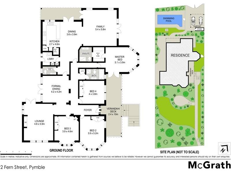 2 Fern Street, Pymble NSW 2073 Floorplan