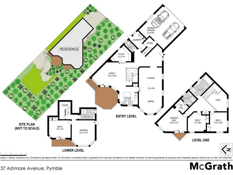 37 Ashmore Avenue, Pymble NSW 2073 Floorplan